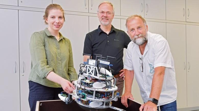 Entwickler: Josef Sommer und sein Team. Foto: Michael Bahlo