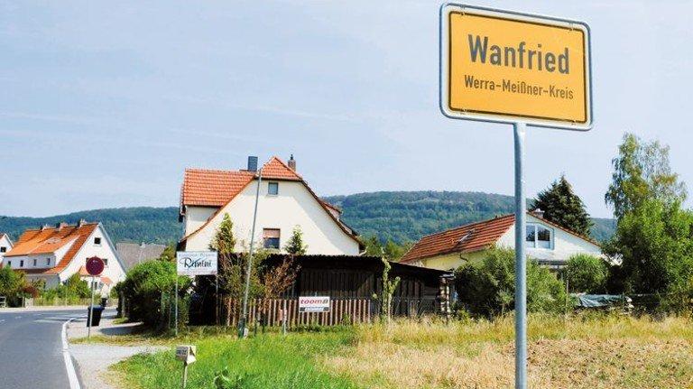 Hessisches Kleinod: Ortseingang von Wanfried. Foto: Roth