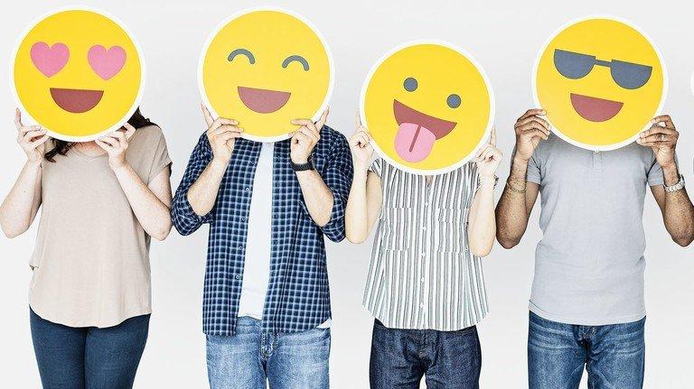 Ansichtssache: Manche Emojis werden ganz unterschiedlich interpretiert – je nach Gesprächspartner.