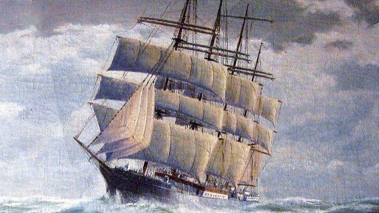 """Große Fahrt: Die """"Peking"""" verkehrte zwischen Deutschland und Südamerika. Foto: Wikipedia/Botaurus"""