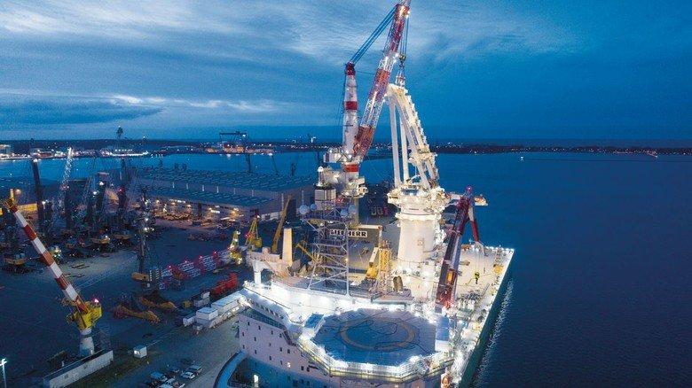 Liebherr: Die Produktion von Hafenmobilkranen und anderen maritimen Kranen in Rostock läuft weiter und wird flexibel organisiert.