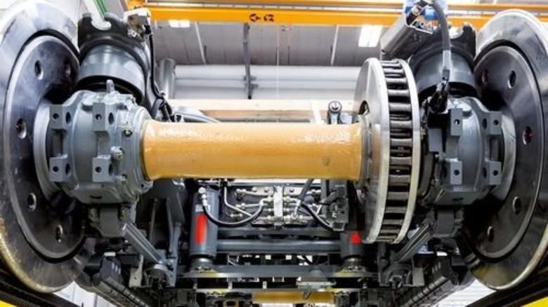 Rollt gut: Der neue Antrieb steckt in den Drehgestellen. Foto: Werk