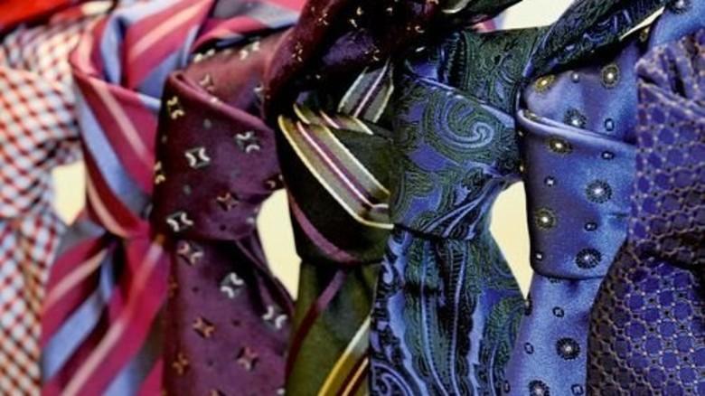 Geknotete Qualität: Die Seide stammt von italienischen Webern. Foto: Werk