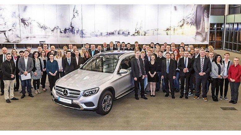 … und von Mercedes-Benz in Bremen. Foto: Werk