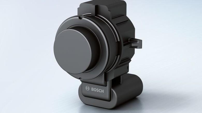 """""""Tastsinn"""" für Autos: Ein Ultraschallsensor von Bosch. Foto: Werk"""