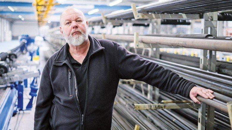 Sucht Lösungen im Team: Betriebsleiter Günter Willner.