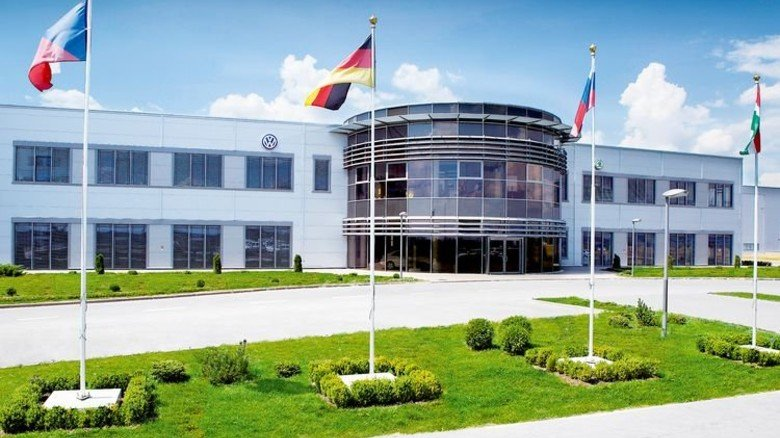 Investieren in Russland: VW erweiterte sein Werk für 180 Millionen Euro. Foto: Volkswagen AG