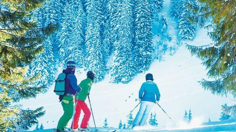 Schneeparadies am Spitzingsee: Nur etwa ein Viertel der bayerischen Pisten wird künstlich beschneit. Foto: Alpenbahnen-Spitzingsee/Dietmar Denger