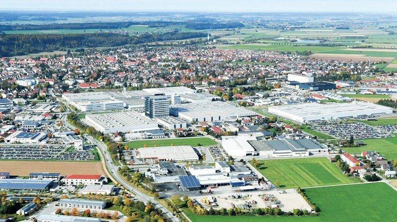 Große Aufgabe: Pawlitzki betreut am Grob-Firmensitz und Hauptwerk in Mindelheim rund 5.000Kollegen.