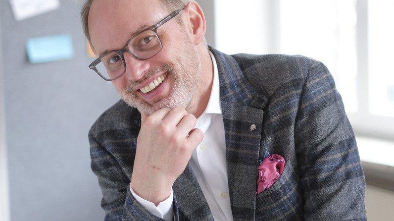 """Als """"Chief Information and Digital Officer"""" stößt Klaus-Peter Fett bei dem Kunststoffspezialisten Röchling die Digitalisierung an."""