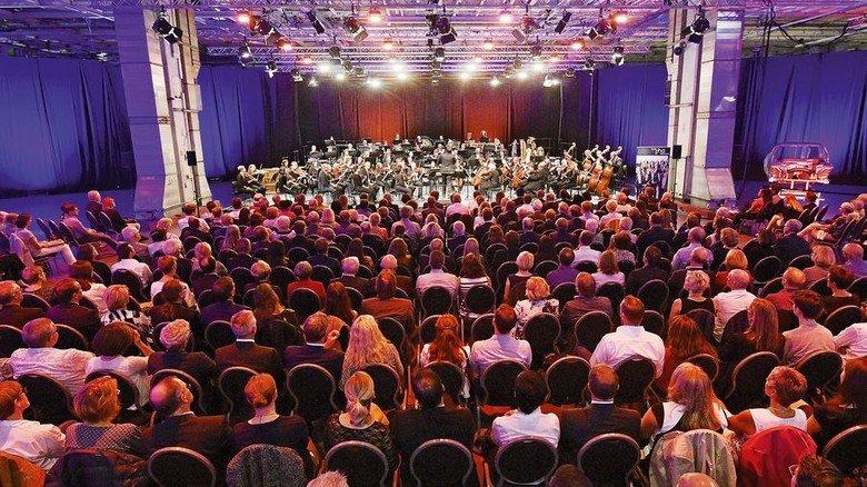 Jubiläums-Veranstaltung: Festkonzert bei Mercedes in Bremen. Foto: Michael Bahlo