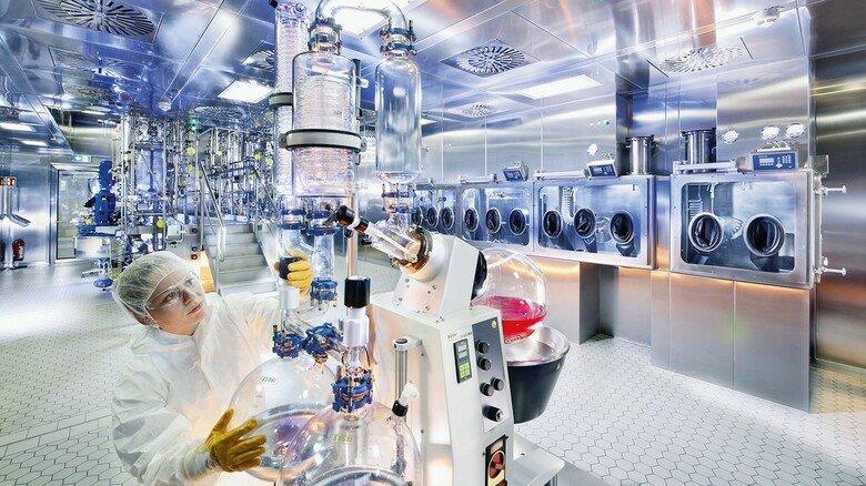 Blick in die Produktion: Hier ist man auf Biotech-Produkte spezialisiert.