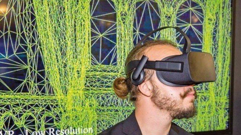 """Neue Welt: Virtuelle Realitäten programmiert das Unternehmen """"Time in the box"""". Foto: Bodmer"""