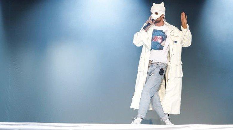 … sowie der Rapper Cro. Foto: Spiering
