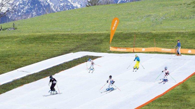 Kein Schnee notwendig: Training im österreichischen Mariaalm. Foto:MrSnow