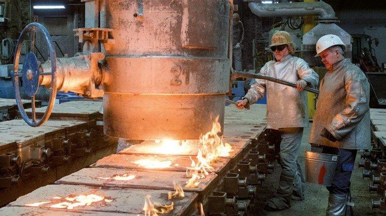 Die Gießerei: Hier entstehen Pumpen, Armaturen und Maschinengestelle. Foto: Moll