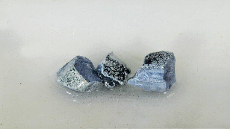 Reines Kalium: In der Natur kommt das Element nur in gebundener Form vor.