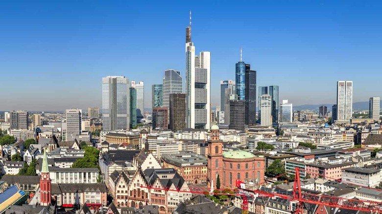 Frankfurt am Main: Selbst hier steigen die Wohnkosten langsamer als die Einkommen.