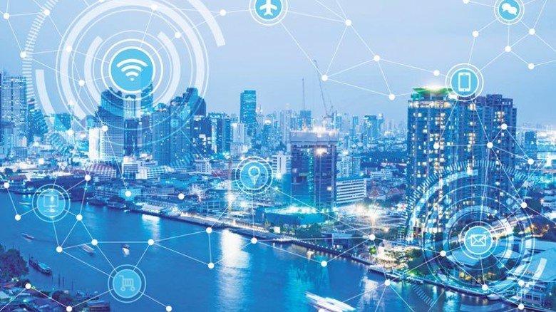 Funkelnde City: Moderne Städte sind echte Datenmaschinen. Foto: Adobe Stock