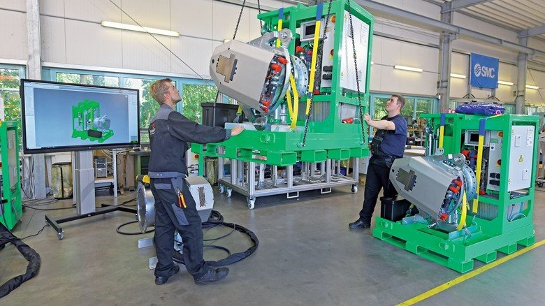 Windenergie: Bei Feldmann entstehen auch Errichtungstools für Windkraftanlagen.