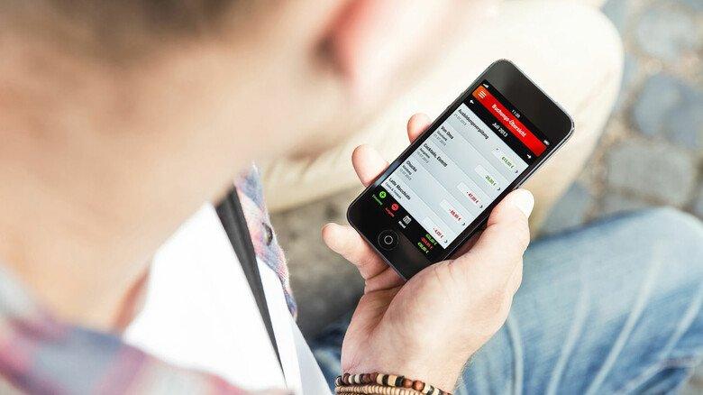 Planen und sparen: Die Finanzchecker-App hilft dabei, die eigenen Finanzen unter Kontrolle zu halten.