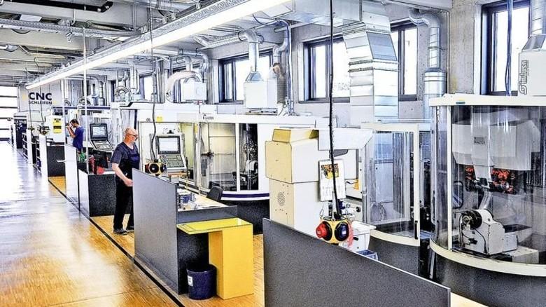 In Betrieb: Das neue Produktions- und Bürogebäude von Kopp Schleiftechnik in Winterkasten. Foto: Werk