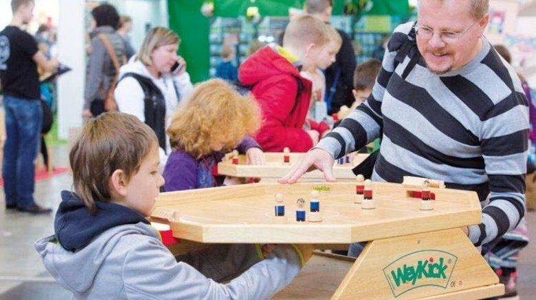 """""""Spielemesse"""": Ausprobieren macht Laune. Foto: Veranstalter"""