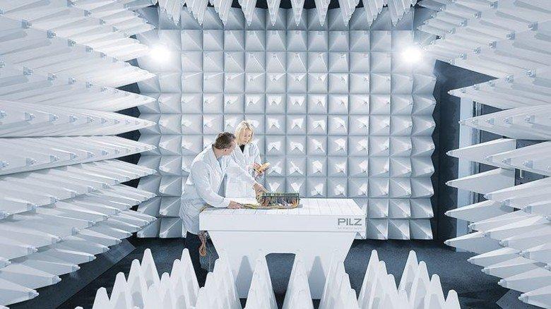 Forschung: Pilz steckt 7 Millionen Euro in den Bau neuer Testlabors. Foto: Werk