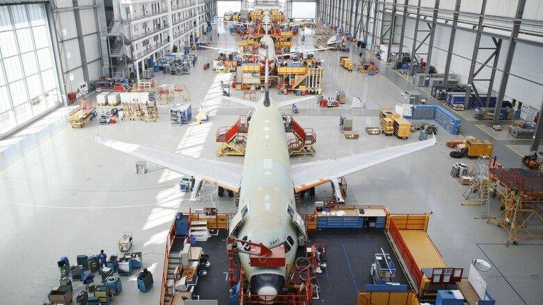 Am Boden: Die Flugzeugbauer und ihre Zulieferer leiden seit Monaten extrem unter den Folgen der globalen Corona-Krise.