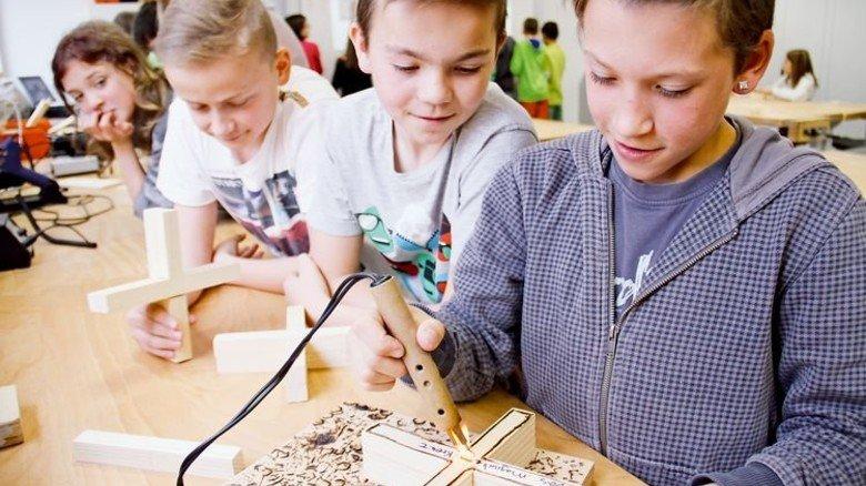 Basteln und Begreifen: So arbeitet die Wissenswerkstatt Passau. Foto: Veranstalter