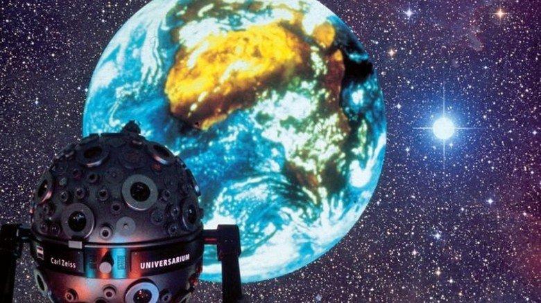 Mannheim: Ein perfekt nachgestellter Sternenhimmel. Foto: Planetarium Mannheim