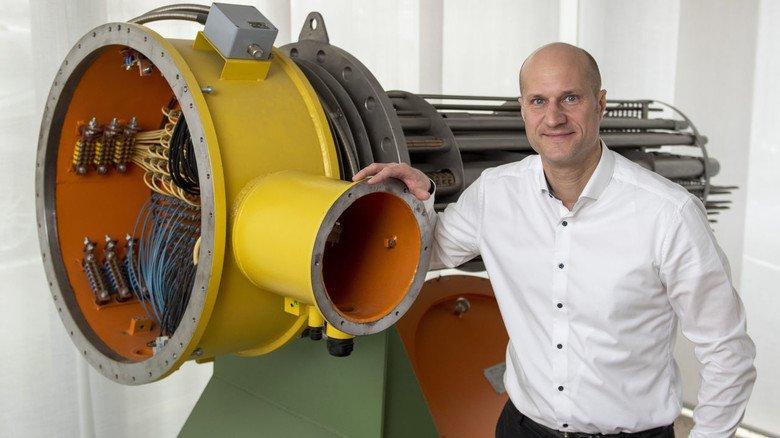 """Vertriebsleiter Jürgen Himmelmann: """"Überall, wo Öl und Gas verarbeitet werden, sind wir zu Hause."""""""