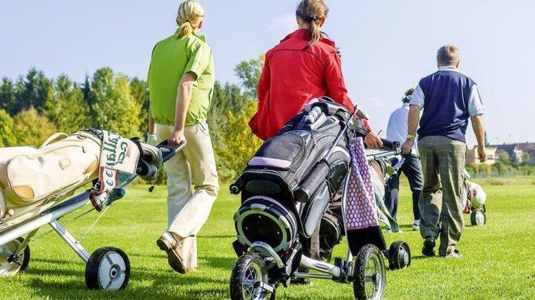 Golf: Das Rasenspiel verzeichnet mehr Mitglieder. Foto: Fotolia