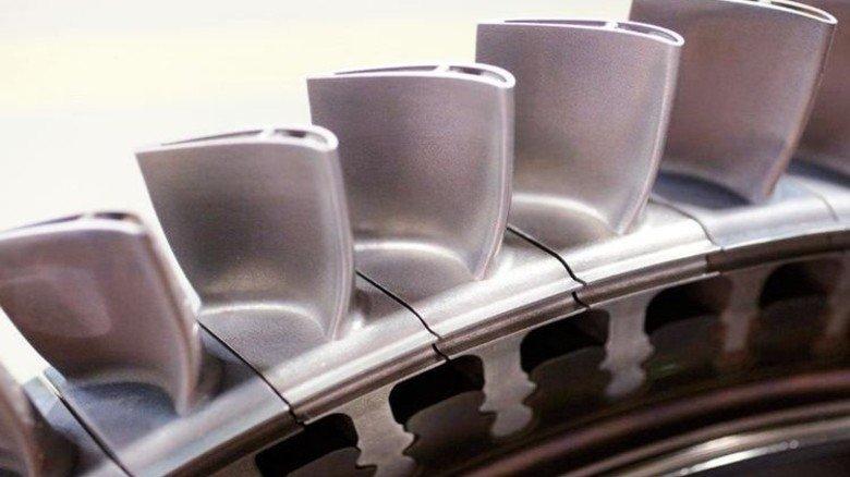 Innovativ: Siemens fertigt Gasturbinenschaufeln im 3-D-Drucker. Foto: Bodmer