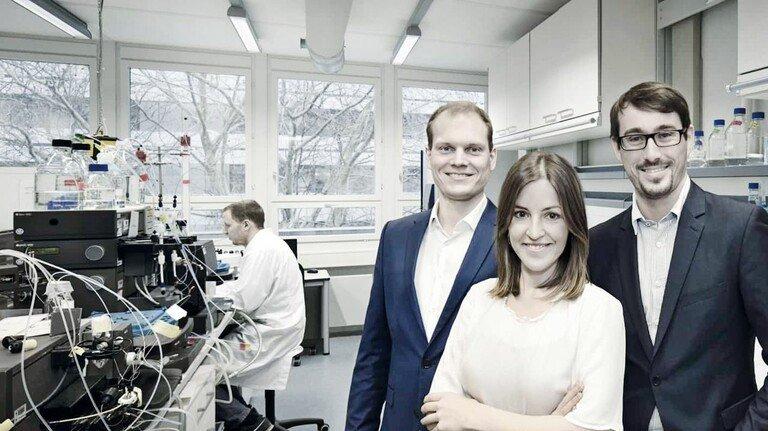 Erfolgreich unterwegs: Die Firmengründer von Gosilico Thiemo Huuk, Teresa Baumann und Tobias Hahn (von links).
