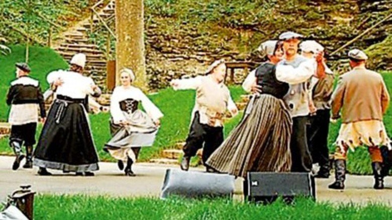 Schauspiel im ehemaligen Steinbruch: Bergwaldtheater in Weißenburg. Foto: Theisen