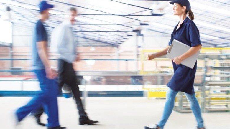 Rein in den Job: Drei Viertel der jüngeren Beschäftigten haben einen unbefristeten Vertrag. Foto: Getty