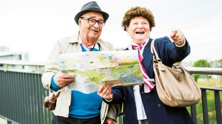 Sorglos: Der heutigen Rentnergeneration geht es besser als jeder davor. Foto: Getty