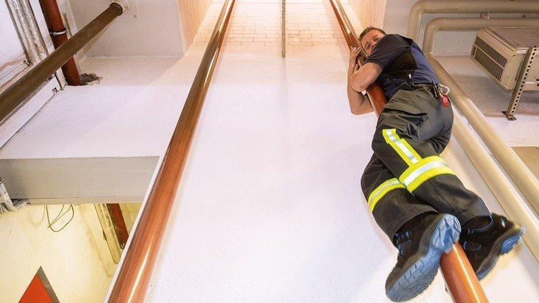 Schnelligkeit: Beim Einsatz zählt jede Minute – da halten Treppen nur auf.