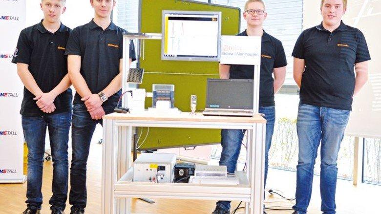 """Continental Automotive in Bebra: Erster Platz in der Kategorie """"Einzelne Produkte und Dienstleistungen"""". Foto: Scheffler"""