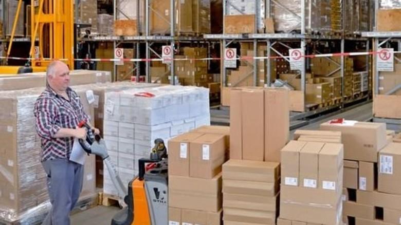 Moderne Warenlogistik: Heute bestellt – morgen geliefert. Foto: Scheffler