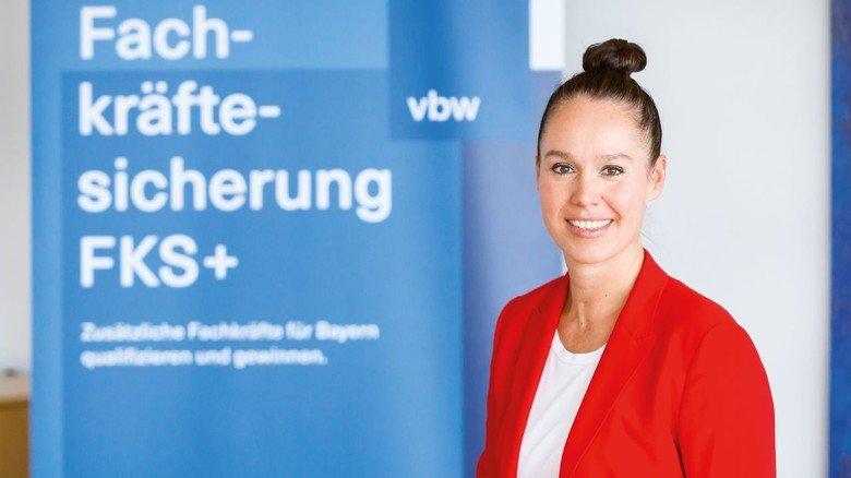 Kompetente Beratung: Tabea Hoffmann und ihre Kollegen unterstützen Unternehmen in ganz Bayern kostenfrei bei der Suche und Qualifizierung von Fachkräften.