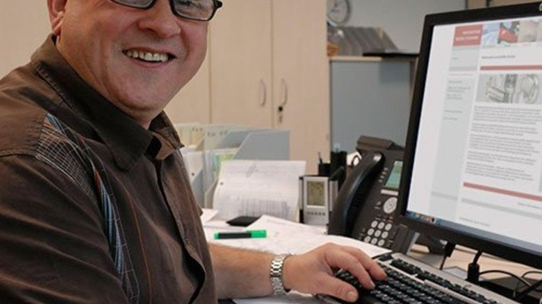 Zum Programmierer aufgestiegen: Joachim Barton. Foto: Scheffler