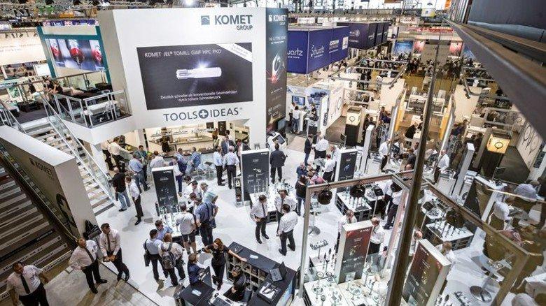 Hot Spot für den Maschinenbau: Über 90.000 Besucher strömten auf die Messe AMB. Foto: Messe Stuttgart