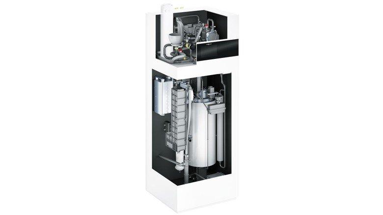 Doppelpack fürs Eigenheim: Eine Brennstoffzelle erzeugt Strom plus Wärme