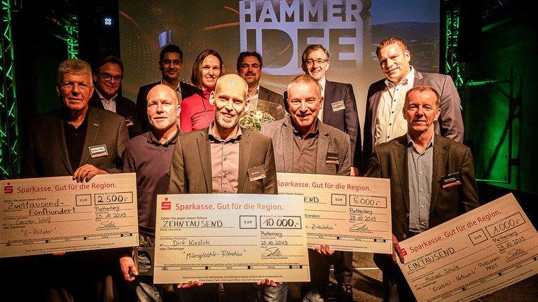 Erfolgreicher Abschluss: Preisträger und Jury zogen eine positive Bilanz. 2021 soll es den nächsten Wettbewerb geben.