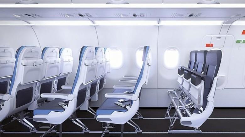 """Flexibel: Die """"Smart Cabin Reconfiguration"""" ermöglicht es, Sitze mit wenigen Handgriffen zu entfernen und hinzuzufügen. Foto: Werk"""