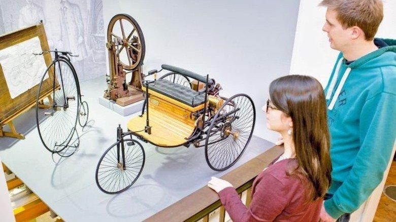 Hat Geschichte geschrieben: Der Benz-Patentwagen. Foto: Luginsland