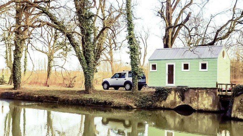 Mobil: Diekmann-Häuser lassen sich ziehen. Foto: Diekmann