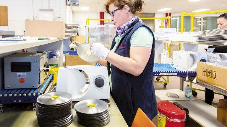 Marktführer: Der Haushaltsgeräte-Hersteller Ritterwerk aus Gröbenzell bei München hat bei Allesschneidern die Nase vorn. Foto: Schulz